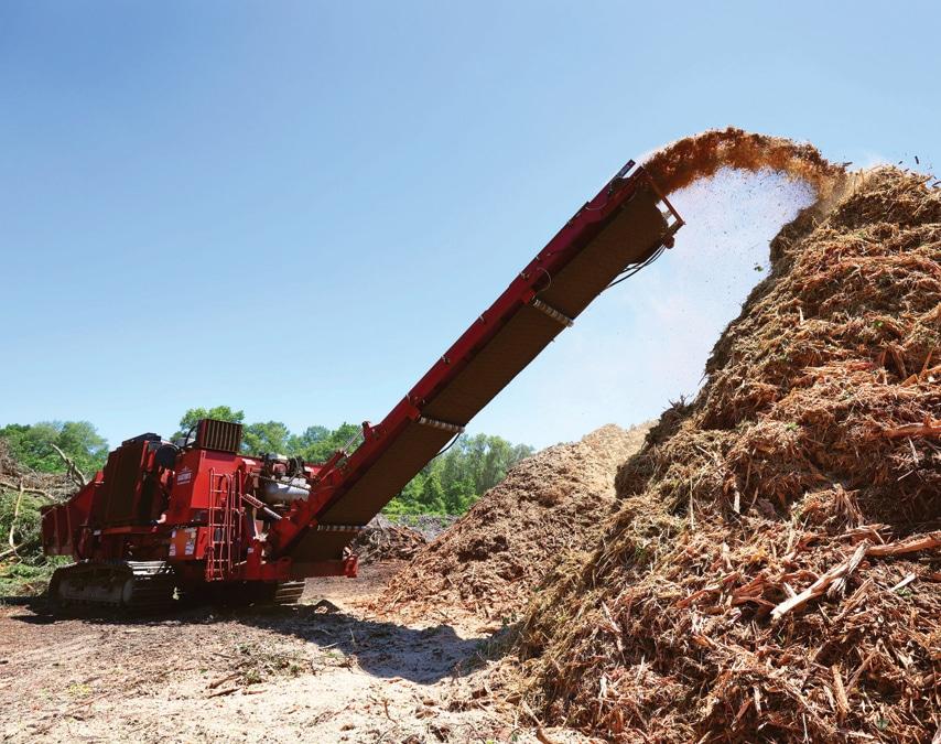 Gaston's Tree Debris Recycling Grinding